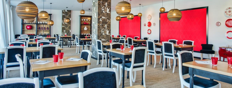 restaurant l'assiette rouge hotel Catalpa Annecy