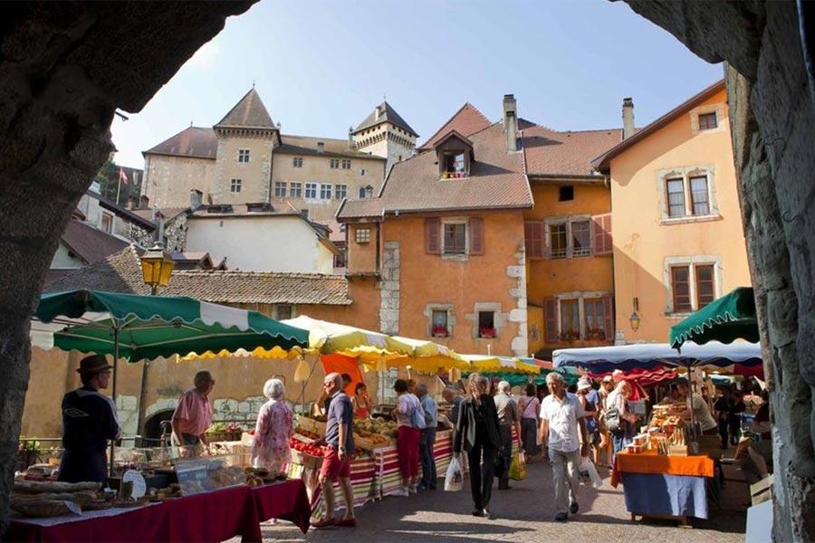 Marche Ville Annecy